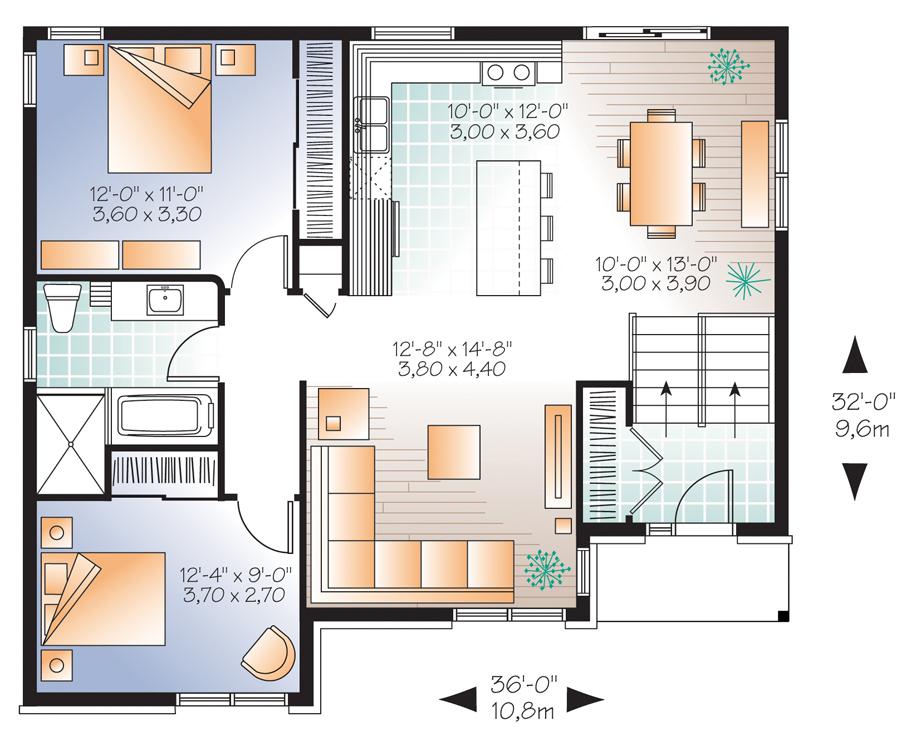 Maison neuve 3323 par habitations jlc la m sange for Interieur maison neuve