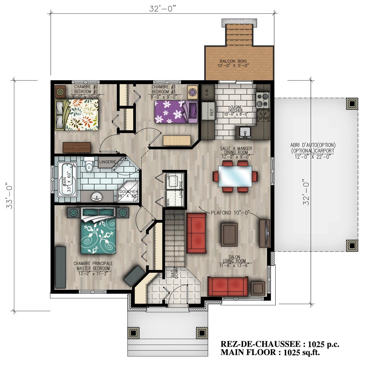 Plan maison neuve plan intrieur maison neuve myrtille for Acheter plan maison
