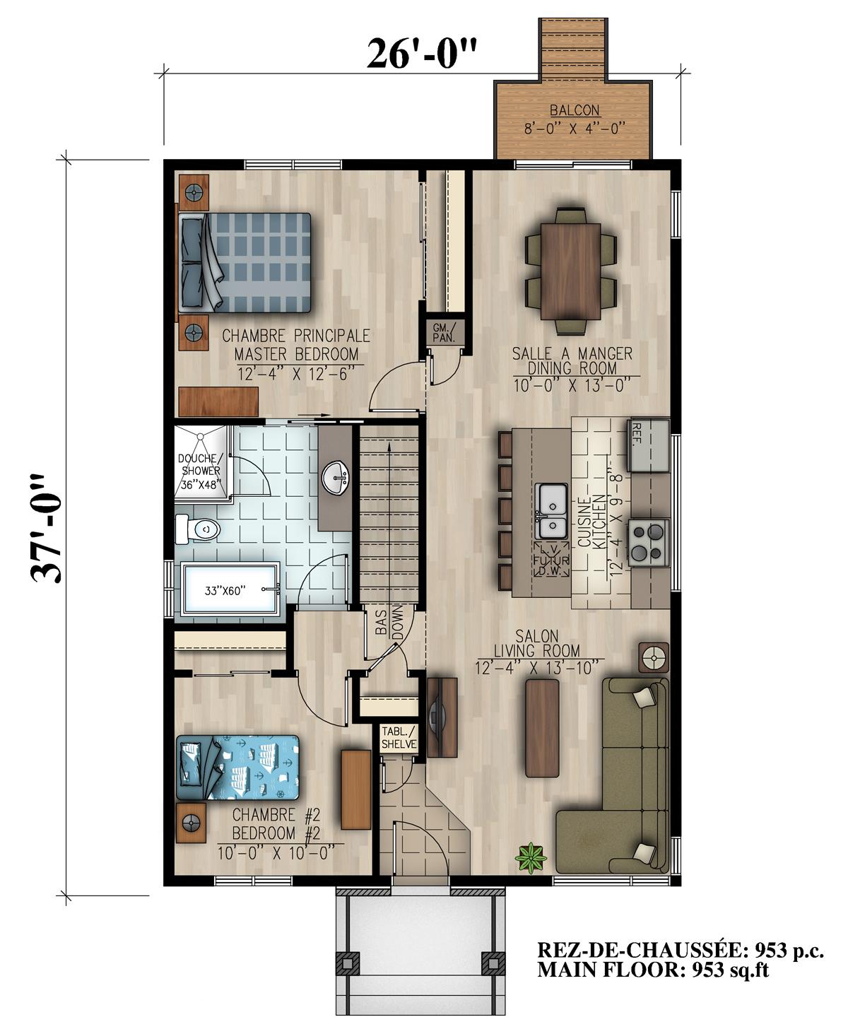 Maison neuve #810 par Habitations JLC: L\'Iris.