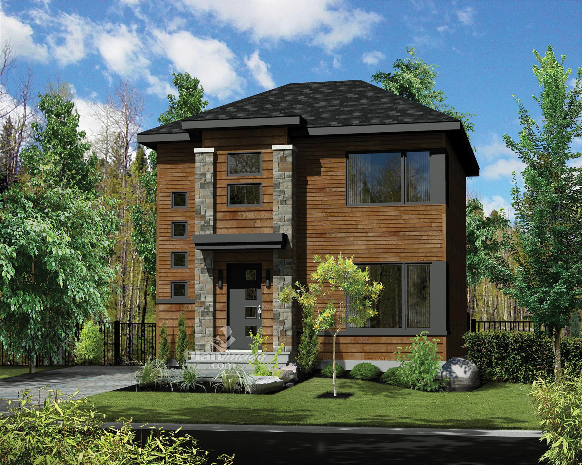 Maison neuve par habitations jlc l 39 h ritage for Habitation neuve